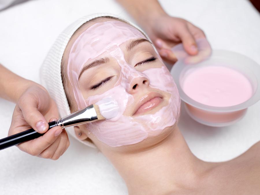 Маски для лица, физиологического действия, механические маски
